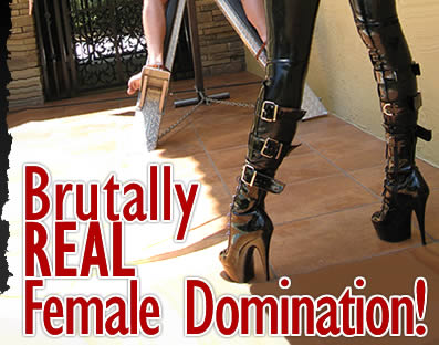 Brutally Real Female Domination!